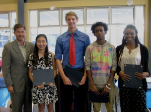 Brian Beasley Memorial Foundation Scholarship Recipients 2014