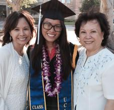 UCLA Graduation with Family
