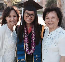 UCLA Graduation with Family