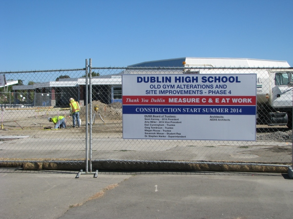 Dublin High School Improvement Project Phase 4