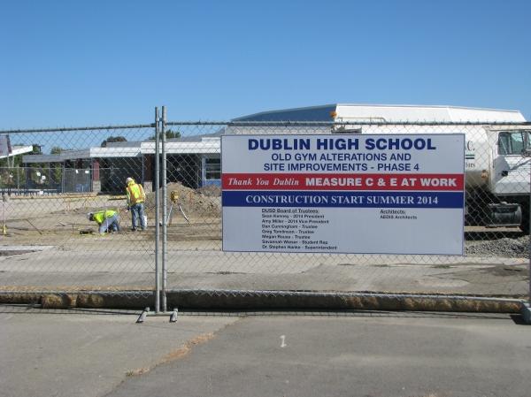 Dublin High School Improvement Project Phase 4