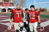 Hamline Football Erik Wong with Roommate Juan Burciaga