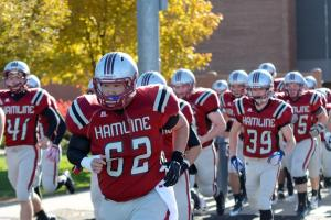 Hamline Football Senior Day