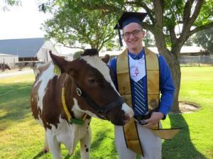 Kevin at UC Davis Graduation