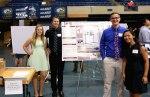 Kevin Cappa with his UC Davis Senior Design Team (credit Watson Lu : Maria Ines Perez-Vargas : MichelleTran