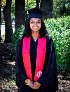 Ravali Reddy Dublin High School Class of 2010 and Stanford University Class of 2014