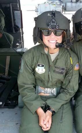US Air Force Academy Cadet Rebecca Beasley