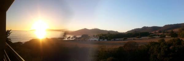 View near campus