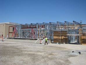 Amador Elementary School Construction Site Dublin California 2