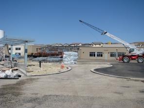 Amador Elementary School Construction Site Dublin California 3
