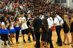 Dublin High School Homecoming Skit Rally