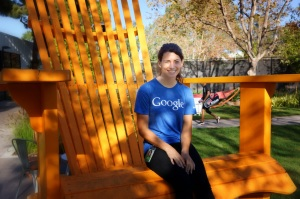 Sierra Kaplan-Nelson on the Google Campus
