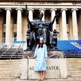Sarah Wolfish Columbia University Graduation