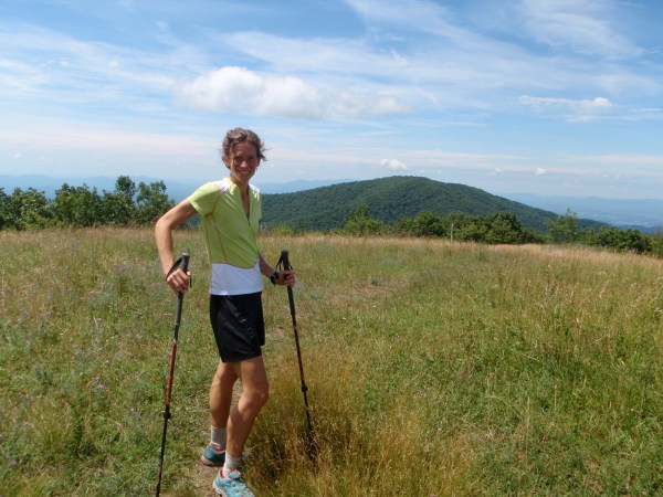 Jennifer on Top of Cold Mountain, VA