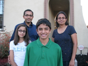 Kumaran Ratnam and Family