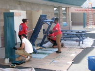 Lowes Heroes Program Improves Wells Middle School 7