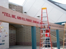 Lowes Heroes Program Improves Wells Middle School 9