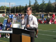 Special Olympics Soccer Event at Dublin High School Dr Stephen Hanke