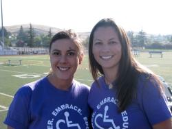 Cecelia Timek and Keira Andresen