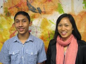 Armaan Sengupta and  Eugene Chou
