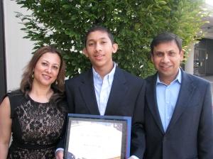 Armaan Sengupta and Family