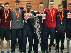 Dublin High School Varsity Boys Cross Country Division II NCS Finals 2014
