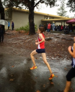 Evelyn Morehead NCS Cross Country Finals 2014