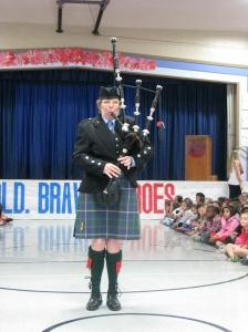 Frederiksen Elementary School Veterans Day Ceremony 2014 - 5