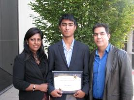 Neil Gupta and Family