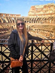 Rebecca in Rome