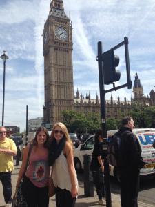 Rebecca in London