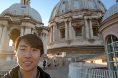 Andrew Song at the Vatican