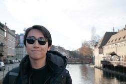 Andrew Song in Strasbourg