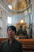 Andrew Song in the Vatican