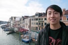 Andrew Song in Venice