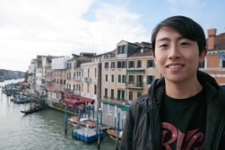 Andrew Song in Venice