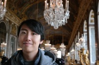 Andrew Song in Versailles Hall of Mirrors