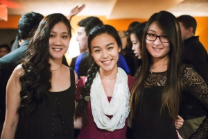 Kimberli Zhong and Friends at an MIT formal