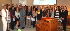 District Attorney Justice Academy students 2