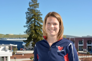 Gaels Coach Trisha Campbell