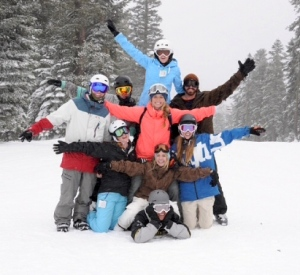 Jaime and friends at Northstar