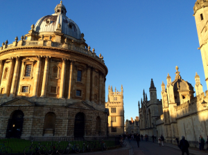 Oxford University Radcliff Camera Library