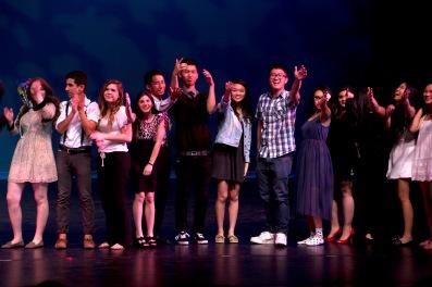 Dublin High School Talent Show Nick Wagner 1