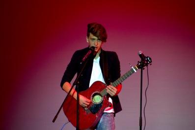 Dublin High School Talent Show Nick Wagner 17