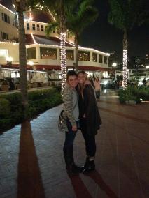 Jenny and a friend explore Coronado