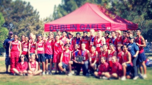 Dublin High School Cross Country Teamjpg
