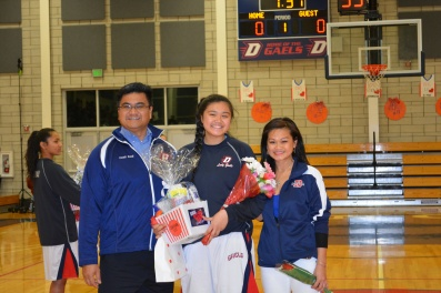 Dublin High School Lady Gaels Julyana Amante