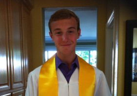 Eric Turner Dublin High School graduation