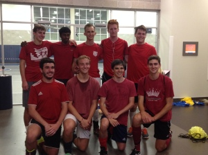 Eric with indoor soccer team