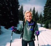 Jillian Cross Country Skiing
